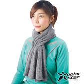 【PolarStar】保暖圍巾『灰』P16625 圍脖 披肩 兩用 針織圍巾 素色圍巾 保暖防風