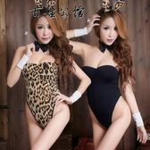 情趣內衣貓女制服緊身連體豹紋兔女郎