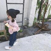 女童長袖上衣 秋新款時尚兒童親子T恤韓版潮 寶寶  嬌糖小屋