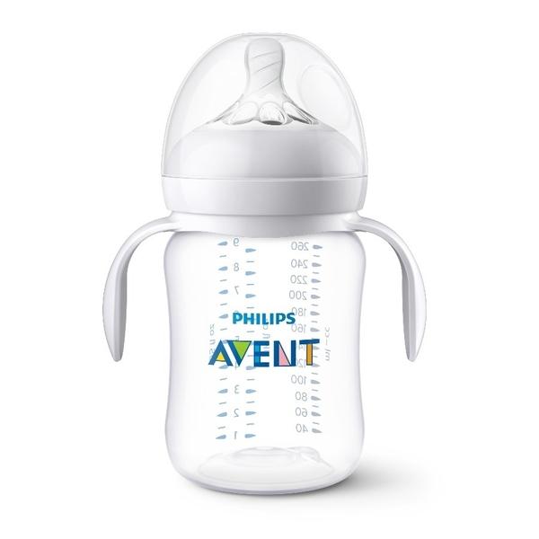 Philips Avent 新安怡 - 親乳感PA防脹氣奶瓶 260ml (附握把)