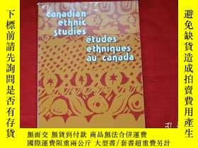 二手書博民逛書店CANADLAN罕見ETHNIC STUDIES ETUDES