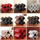 歐式紅酒架擺件 實木家用創意現代簡約客廳葡萄酒瓶櫃裝飾置物架
