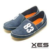 XES 經典帆布鞋進化版 83懶人鞋情侶款(女) 柔軟度up舒適上市_藍色