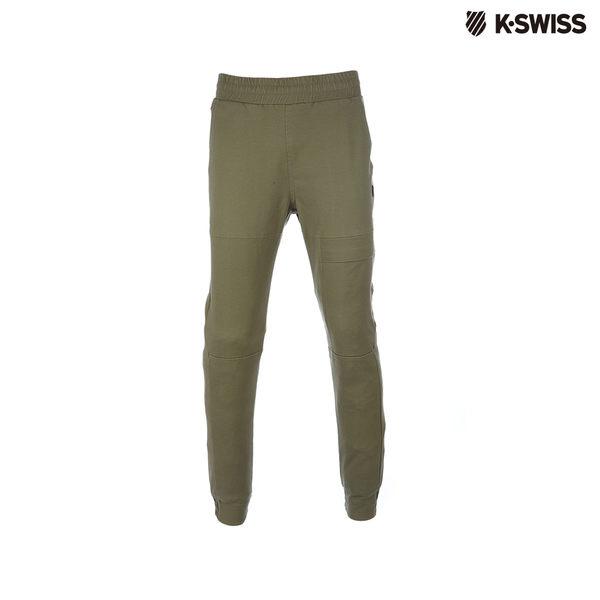 K-Swiss Woven Pants休閒長褲-男-軍綠