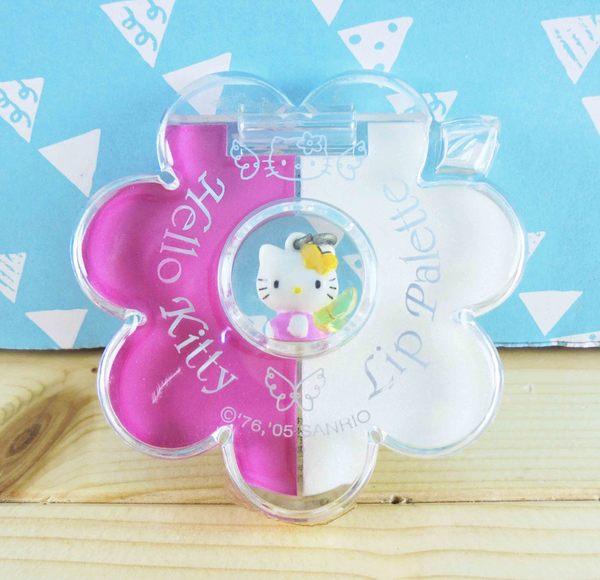 【震撼精品百貨】Hello Kitty 凱蒂貓~2色口紅盤組-粉白
