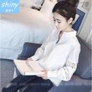 【V1978】shiny藍格子-秋薰芳恬...