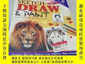 二手書博民逛書店SKETCH罕見DRAWY267886 不祥 不祥 ISBN:9