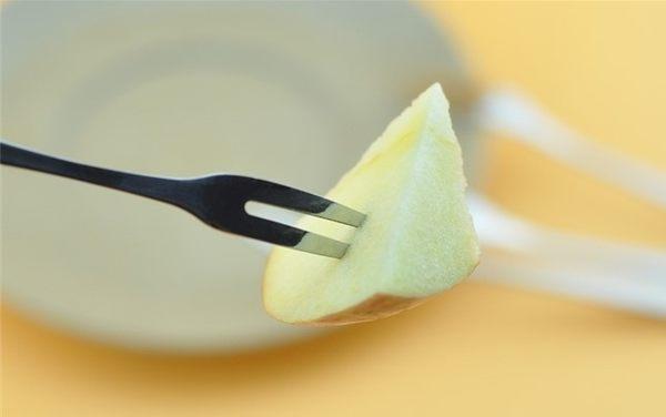 [協貿國際]  優時尚創意環保餐具不銹鋼水果叉二齒叉 (30個價)