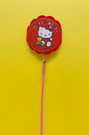 【震撼精品百貨】Hello Kitty_凱蒂貓~KITTY寵物玩耍棒-紅#87931