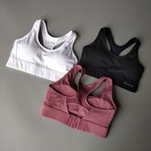 高強度定型鏤空運動內衣女防震跑步聚攏文胸健身透氣背心式bra 貝芙莉