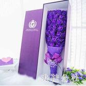 玫瑰花七夕情人節送女友浪漫生日禮物禮盒裝花束 ZB147『美鞋公社』