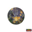 【收藏天地】台灣紀念品*水晶玻璃球冰箱貼-十分天燈