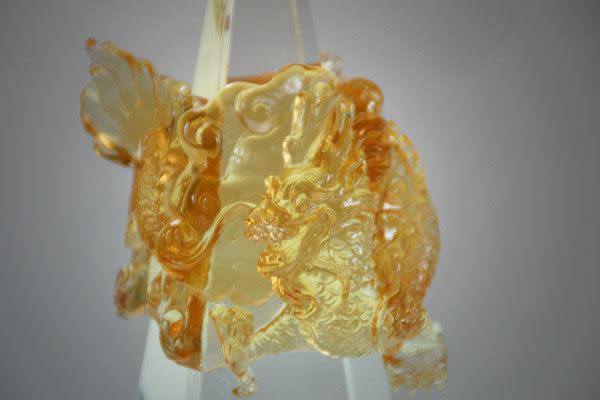鹿港窯~居家開運水晶琉璃【榮耀】 獎牌 擺飾 ◆附精美包裝◆免運費送到家
