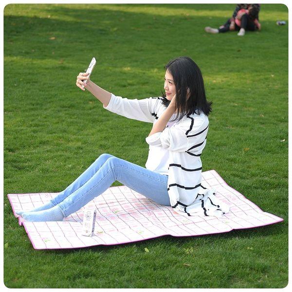 【鋁箔野餐墊】大號140x200cm戶外露營野餐地墊 防水防潮墊 野餐墊 沙灘帳篷墊