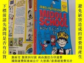 二手書博民逛書店james罕見patter son middleschool 詹姆斯·帕特森中學Y200392