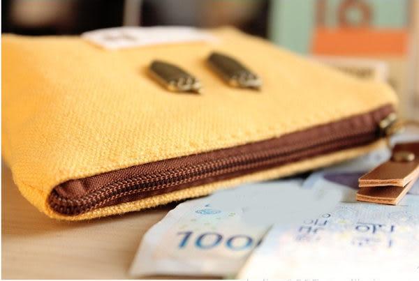 零錢包【JS精心苑】 創意復古小宇宙零錢包 糖果色棉麻包/鑰匙包/配件/錢包/萬用包