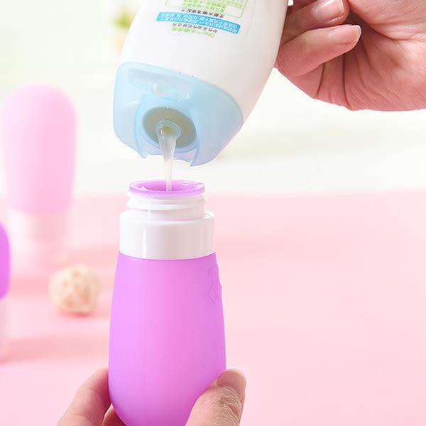 【BlueCat】小蛋頭旅行專用乳液分裝矽膠按壓瓶 (小號)