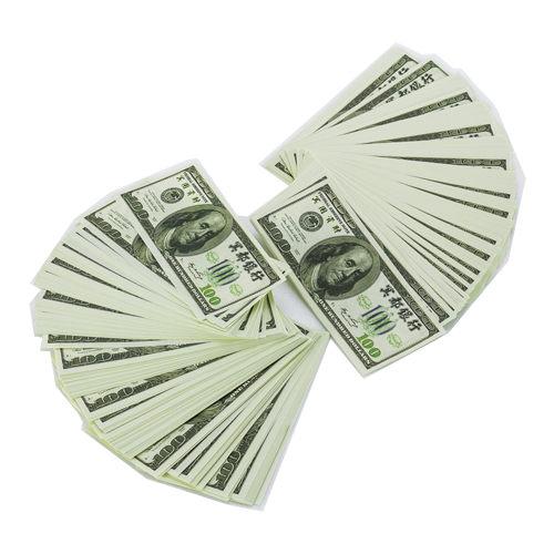 【金發財金紙】普渡配件全組-有衣有錢組+元寶金條組+冥國美金人民幣