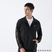 【GIORDANO】男裝3M邊條套裝外套 - 09 標誌黑