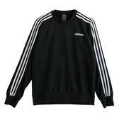Adidas 愛迪達 E 3S CREW FT  長袖上衣 DQ3083 男 健身 透氣 運動 休閒 新款 流行