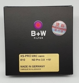 B+W XS-PRO 810 ND 3.0 ND1000 MRC nano 77mm 高硬度奈米鍍膜 減10格【公司貨】BWi
