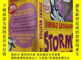 二手書博民逛書店horrible罕見geography stormy weather 可怕的地理暴風雨天氣..Y200392