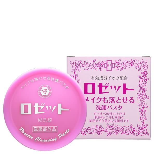 日本ROSETTE露姬婷 溫泉卸妝兩用洗顏膏(霜)90g -508626【UR8D】