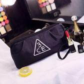 大容量個性旅行化妝包隨身化妝用品收納包手拿簡約化妝袋便攜防水