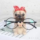 裝飾房間的小飾品創意眼鏡架少女心房間布置宿舍辦公室桌面擺件 KV6558 【歐爸生活館】