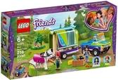 【LEGO樂高】FRIENDS 米雅的馬兒運輸車 #41371