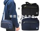 ~雪黛屋~SANDIA-POLO 斜側包中小容量二層主袋進口防水尼龍布材質隨身物品中性BSP1018611000