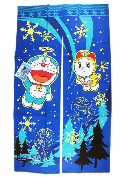 【卡漫城】 Doraemon 門簾 150 x 85cm (夜光冰原版) ㊣版 長型 小叮噹 哆啦 多拉 A夢 窗簾