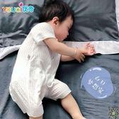 連身裝 嬰兒連身衣服夏季新生幼兒男寶寶女睡衣薄款夏裝棉質短袖夏天哈衣 多款