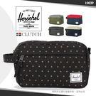 《熊熊先生》加拿大品牌 Herschel手拿包 輕量好提旅遊包 大容量時尚小包休閒包 反車拉鍊 10039