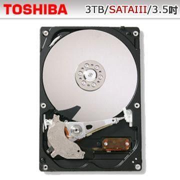 Toshiba 東芝 3TB 3.5吋 SATAIII 7200轉 2年保 DT01ACA300 【刷卡含稅價】
