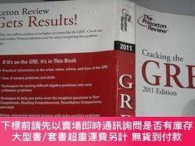 二手書博民逛書店Cracking罕見the GRE with DVD, 2011 Edition (Graduate School