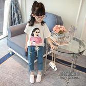 店長嚴選 女短袖t恤韓版女兒打底衫印花百搭上衣