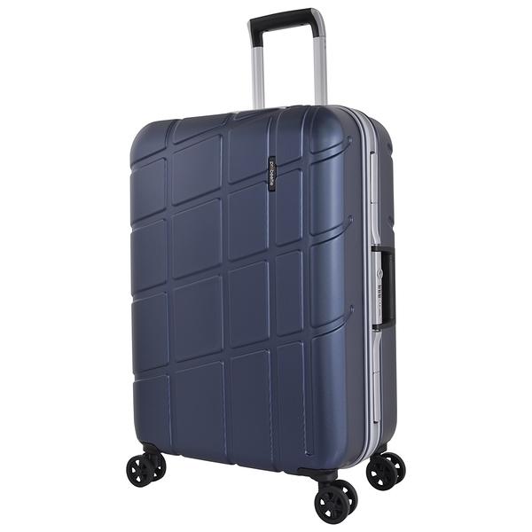 萬國 PROBEETLE 28吋幾何變奏曲 霧面鋁框 德國拜耳PC材質 行李箱/旅行箱-(藍) 9P3