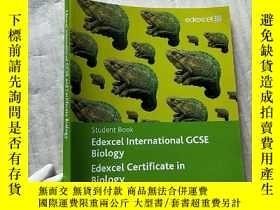 二手書博民逛書店Edexcel罕見International GCSE Biology Edexcel Certificate i