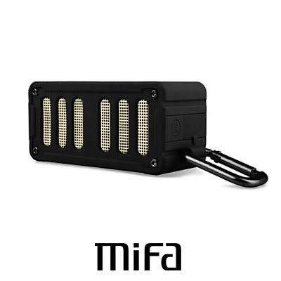 MiFa F6 無線 NFC 隨身藍芽MP3喇叭 極地黑 快速配對超方便
