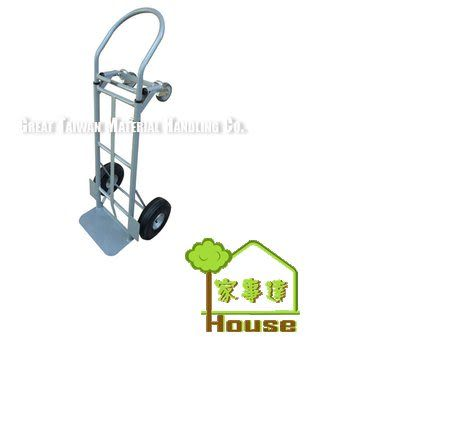 [家事達] 台灣GTMH-YY-600-2N 二合一鐵製手推車-載重:270Kgs 特價 工作車 平板車
