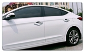 【車王小舖】現代 Hyundai Super Elantra 電鍍 全包 拉手 把手 門把 門碗 裝飾框 保護蓋