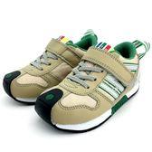 《7+1童鞋》中童 日本IFME 輕量透氣 機能鞋 運動鞋  C437 米色