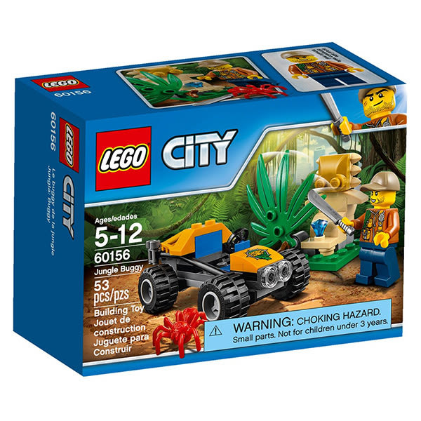 樂高積木LEGO 城市系列 60156 叢林越野車