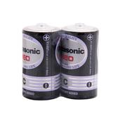 【Panasonic 國際牌】碳鋅電池2號(2入)