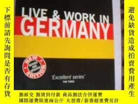二手書博民逛書店LIVE罕見& WORK IN GERMANYY85718 IA