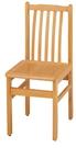 HY-763-3  實木排骨椅(有加強鐵...