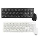 【HA225】aibo 無線多媒體鍵盤滑鼠組10MK(免運) 超薄型文青風 2.4G無線鍵盤滑鼠組 EZGO商城
