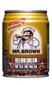 金車伯朗曼特寧咖啡(二合一)240ml-24罐/箱【合迷雅好物超級商城】-01