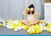 海洋球 兒童海洋球幼兒園環保無毒彩色波波球池加厚游樂場塑料玩具球T